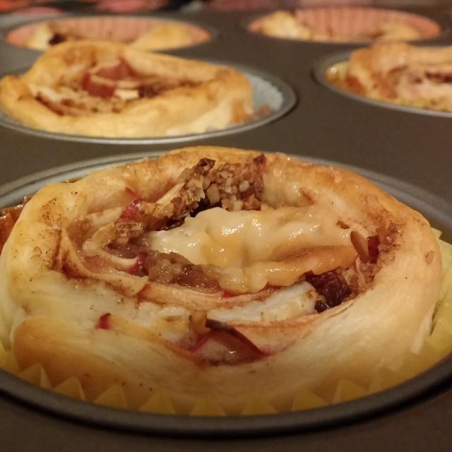 Apfelstrudel Muffin