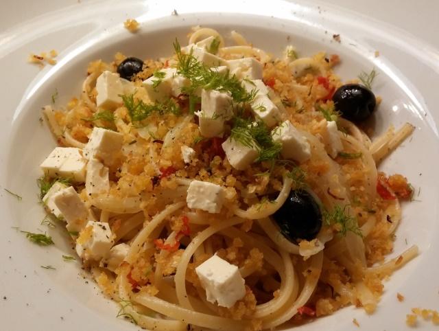 Spaghetti mit Fenchel