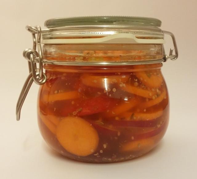 Pickled Veggies - eingelegtes Gemüse