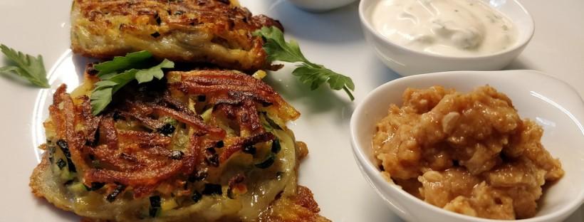 Kartoffel-Zucchini-Rösti
