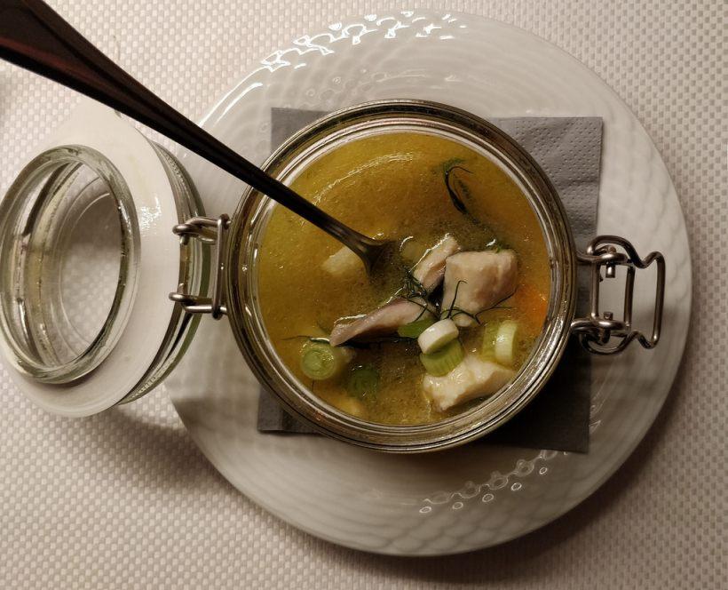Steirischer Fischeintopf im Glas