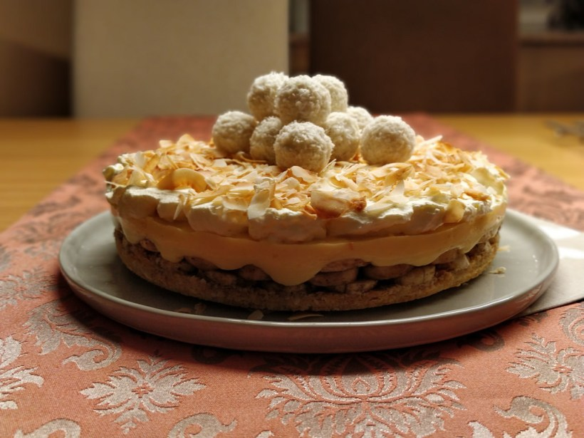 Bananen-Kokos-Torte