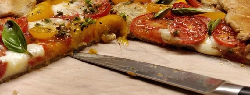 Ziegenkäse-Tomaten-Galette