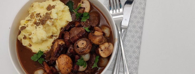 Bœuf bourguignon {Kitchen impossible}