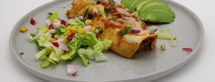 Enchiladas de atún con salsa roja 🇲🇽